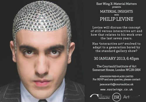 Material Matters Artist Talk: Philip Levine